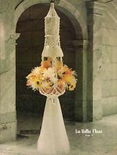 Large Ornate Plant Hanger Pattern - Craft Book: #GS3M Macrame Elegance III