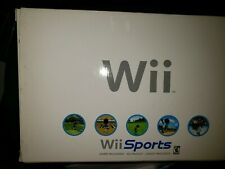 Nintendo wii console white with wii sports Sealed Box