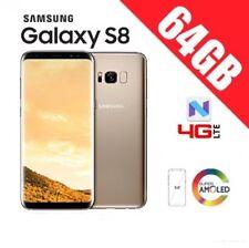 SAMSUNG GALAXY S8 64GB G950 UNLOCKED ORIGINAL ORO - GARANTIA 1 AÑO -PRECINTADO