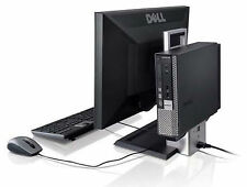 """Dell Optiplex 780 AIO USFF Desktop C2D 4GB 320GB HD DVD-RW Win 7 with 19"""" LCD"""