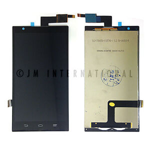 OEM ZTE ZMAX Z970 LCD Outer Glass Touch Screen Digitizer Assembly Repair Part US