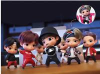 7pcs/set Kpop BTS RM Jin Suga JHope Jimin V Jungkook Doll Toy figure BANGTAN