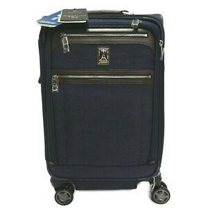 "Travelpro 20"" Platinum Elite-Softside Expandable Spinner Wheel Luggage True Navy"