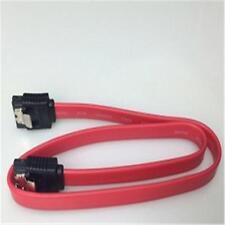 Dual 90 Degree Angle 7Pin SATA 2.0Serial ATA Female to Female Short Data cable E