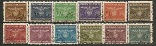 Poland, German Occup. 1940,  Official Stamps  Scott NO25-36