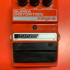Dod Fx55-B Supra Distortion Guitar Effects Pedal Tested Working U.S.A.