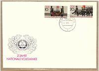 """Ersttagsbrief - """"25 Jahre Nationale Volksarmee"""" mit Marken/Stempel 1981"""