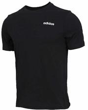 ADIDAS Plain Logo Tshirt Mens Black Medium *REF58