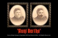 Aunt Bertha 5x7 Haunted Memories Changing Portrait Halloween Lenticular