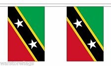 St Kitts and & Nevis 9 Metre Bunting 30 Flags Flag Caribbean