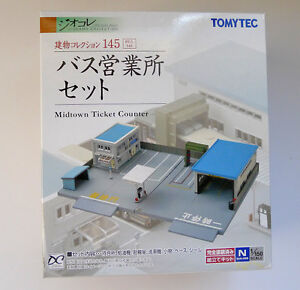 Tomytec 145 Midtown Bus Ticket Counter  N Scale