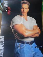 Mr Olympia ARNOLD SCHWARZENEGGER muscle bodybuilding LARGE poster COSMPOLITAN