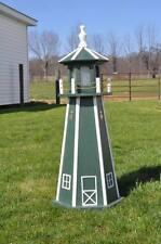 "Large 39"" Light Lighthouse Poly Vinyl Yard Garden Decoration Outdoor Landscape"