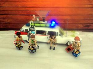 Ghostbusters Ecto 1, Auto mit Licht und Sound, 6 Figuren, Zubehör von Playmobil