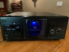 New listing Sony Cdp-Cx985v 400 Disc Cd/Sacd/Dvd Disc Explorer with Remote