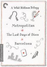 A Whit Stillman Trilogy: Metropolitan, Barcelona, The Last Days of Disco (The Cr