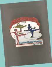 2003 Thanksgiving Classic Synchronized Skating Competition Lapel Pin Ex - Scarce