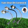 Fuel Shut Off Shutdown Solenoid 12V/24V for Yanmar Doosan Komatsu Kubota TRACTOR