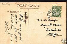 Genealogy Postcard - Ancestor History - Holland - Eccleshall - Staffs  BH5366