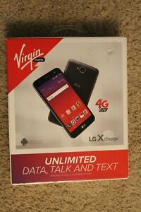 LG X Charge 16GB Virgin Mobile Prepaid Android 4G Cell Phone Smartphone Mobile