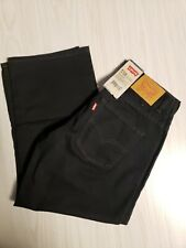 Nwt Levi's 550 Relaxed Fit Jeans Boys 8 Husky 28 x 23 Black Magic Free Shipping