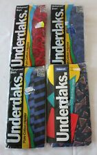 VINTAGE 1980s 4 x Bonds Underdaks Boys Hipsters Underwear - New in Package 4-6 4
