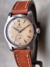 OMEGA Seamaster Automatic. Steel case. ca. 1950. Subs. seconds 100 % original.