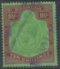 BERMUDA 1924-1932 MSCA SG92 USED MIN CAT £140