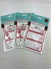 (3) Nip Martha Stewart Home Office With Avery Gift Labels
