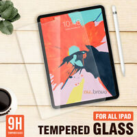 "For Apple iPad Pro 11"" 10.5"" 10.2"" Ipad Air 9.7"" Tempered Glass Screen Protector"
