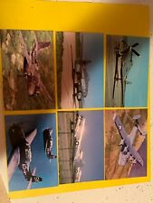 LOT OF TWELVE MILITARY AIRPLANE POSTCARDS  ALL UNPOSTED