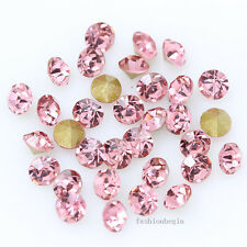 72/288p ss27 6mm Point Back Crystal Glass Rhinestone jewels brooch Hairpin stone