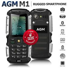 "Unlocked AGM M1 2"" Dual SIM IP68 Waterproof 3G 2570mAh Rugged Outdoor Smartphone"
