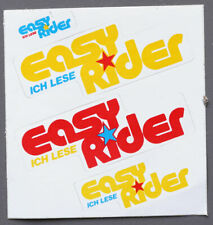 Aufkleber/Sticker Motorrad Zeitschrift Easy Rider ca 1980