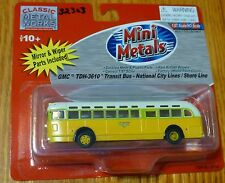 """Classic Metal Works #32303 GMC TD 3610 Transit Bus """"Los Angeles"""" National City"""