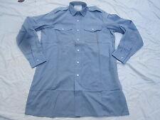 Shirt Mans Blue, blaues Diensthemd,Langarm Gr. 36, #2