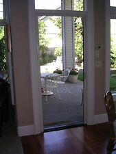 "Retractabl​e Screen Door fits up to 98"" tall Door (Custom Built)"
