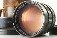 [Rare Near Mint] Minolta MC Tele Rokkor PF 100mm f2 MD Mount Lens From Japan