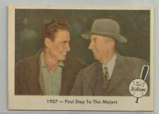 1959 Fleer Ted Williams Card # 9 1937 - First Step To The Majors Ex-Mt Condition