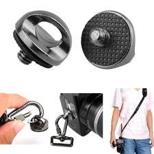 "2pcs CAMVATE Universal 1/4""-20 Screw fr DSLR Camera Shoulder Strap Tripod Socket"