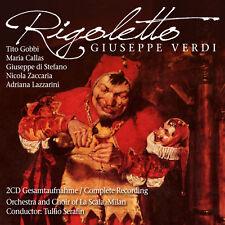 CD MARIA CALLAS Rigoletto di Giuseppe Verdi completamente aufnhame 2cds