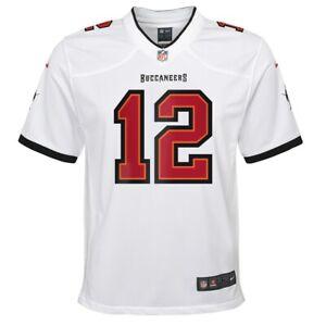 ''YOUTH'' Tom Brady Bucs New White Nike Game Jersey Sz.18/20 XL One Left!