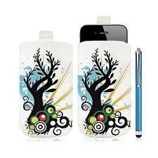 Housse coque étui pochette pour Apple Iphone 4/4S avec motif HF03 + Stylet luxe