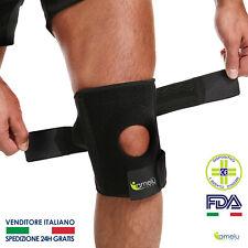 Ginocchiera Ortopedica Elastica Tutore Fascia Ginocchio Menisco 2020 AmelùShop®