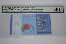 (PL) NEW SALES: RM 1 HK 2323232 PMG 66 EPQ RADAR ALMOST SOLID REPEATER UNC