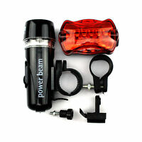 LED Fahrradlicht Set vorne u hinten Bike light head-taillight NEU&OVP