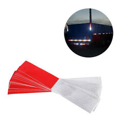 10pcs Lot 30x5cm High Visibility Reflective Warning Conspicuity Tape Sticker#