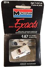 HO Scale Ferrari Testarossa • Monogram Models • Mini Exacts • With Box • 1:87