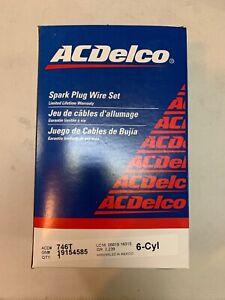 ACDelco Spark Plug Wire Set 19154585 Brand New 746T
