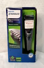 Philips Norelco Beard  Trimmer 1000- Black  NEW & SEALED slightly damaged box
